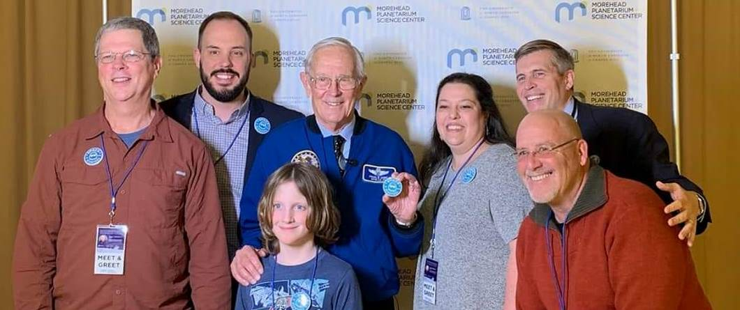 Charlie Duke with Space Hipsters on February 22, 2019